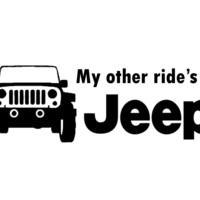 My other ride's a Jeep!