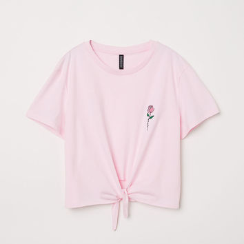 H&M T-shirt with Tie $12.99
