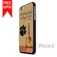 Ed Sheeran Guitar And Song Quotes KK iPhone 6 Case