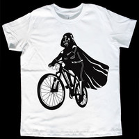 Darth Vader Is Riding It Toddler / Youth American by ironspider