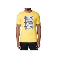 Nike Men's Jordan Last Shot Yellow T-Shirt