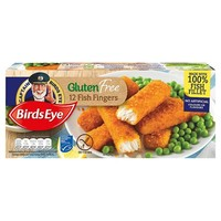 Birds Eye 12 Gluten Free Fish Fingers Frozen 360g from Ocado