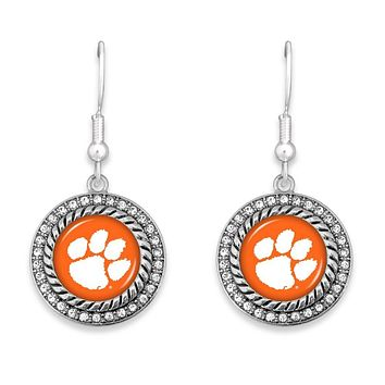 Clemson Tigers Game Day Drop Earrings