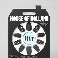 House Of Holland X Elegant Touch Dotty Faux Nail Set - Urban Outfitters