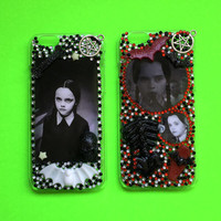 Decoden The Addams Family Wednesday Rhinestone Phone Case for iPhone 6
