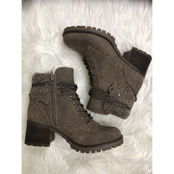 Very G Olivia Boot- Taupe