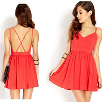 New Fashion Summer Sexy Women Dress Casual Dress for Party and Date = 4458087172