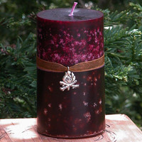 Sacred Smoke Fusion Candle 2x3 Pillar Fire Festivals, Sacred Fertility Rites, Sexual Energy, Divination, Nature Spirit Works, Pagan, Wiccan