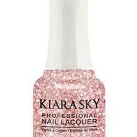 Kiara Sky Polish Pinking Of Sparkle N496