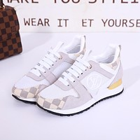 lv louis vuitton women casual shoes boots fashionable casual leather women heels sandal shoes 86