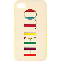 Kate Spade New York Hello Resin Case for iPhone® 4