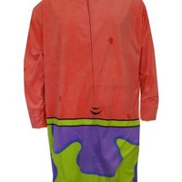 SpongeBob's Patrick Star Kigurumi One Piece Pajama for men (One Size)