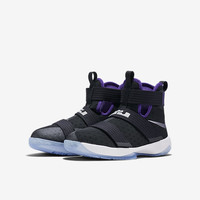 The Nike Zoom LeBron Soldier 10 Big Kids' Basketball Shoe.