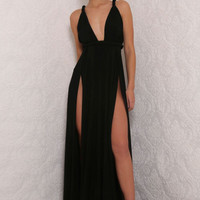 Aphrodite Gown Black