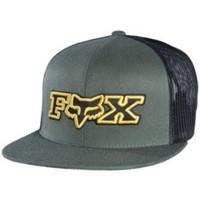 Fox Racing Mens Supplement Snapback Adjustable Hat One Size Army