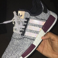 Adidas NMD R1 3M Reflective Fashion Trending Running Sports Shoes