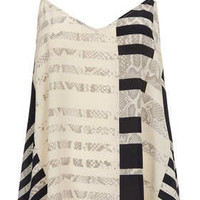 Silk Stripe Cami By Boutique - New In This Week  - New In