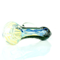 """Hand Glass Pipe 4"""" Storm"""