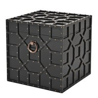 Black Square Trunk | Eichholtz Aragon