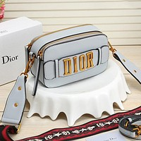 Dior classic solid color ladies shopping shoulder bag messenger bag