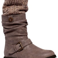 Muk Luks Women's Sky Engineer Boots