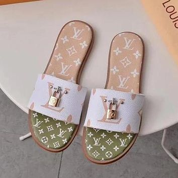 Louis Vuitton LV Lock It Mule Sandals Shoes