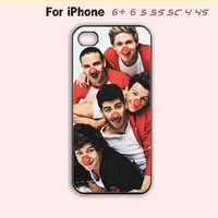 One Direction Phone Case For iPhone 6 Plus For iPhone 6 For iPhone 5/5S For iPhone 4/4S For iPhone 5C-5 Colors Available