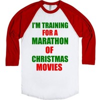 tRAINING FOR A mARATHON OF cHRISTMAS mOVIES