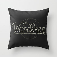 Wanderer Throw Pillow by Koning