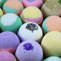 6 Bath Bombs - You Pick Scents - Large Selection!