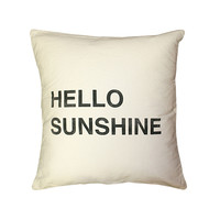 Hello Sunshine Pillow