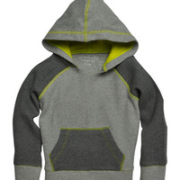Heather Gray Organic Thermal Hoodie - Infant & Boys