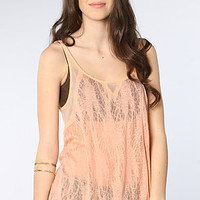 Free People Free People Ethereal Knit Tank in Melon : Karmaloop.com - Global Concrete Culture
