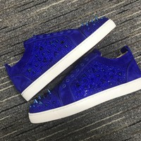Christian Louboutin Cl Louis Junior Mix Sneakers Reference 1 - Best Online Sale