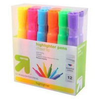 12-ct. Highlighters - Assorted Colors