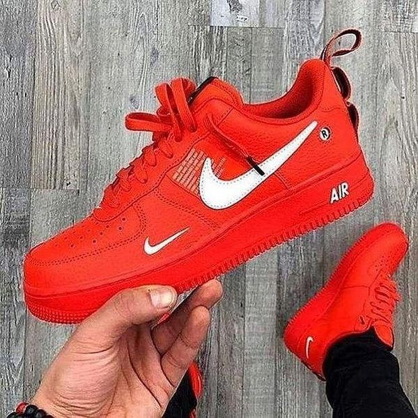 Image of Nike Air Force 1 Women Men Fashion Casual Sneakers Sport Shoes
