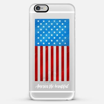 America the Beautiful iPhone 6 Plus case by Noonday Design | Casetify
