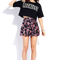 Reckless Cropped Tee