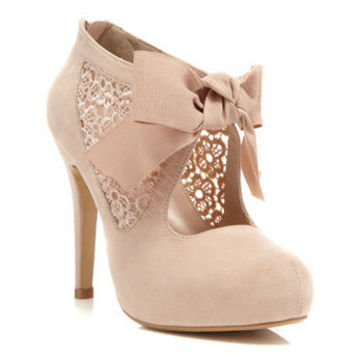 Sally Nude Town Shoe - Heels  - Shoes