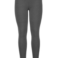 Charcoal Ankle Length Legging - Charcoal