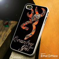 Browning Deer Country iPhone 4 5 5c 6 Plus Case, Samsung Galaxy S3 S4 S5 Note 3 4 Case, iPod 4 5 Case, HtC One M7 M8 and Nexus Case