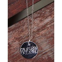Silver California Dreaming Necklace