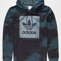 Adidas D2d Aop Mens Hoodie Medium Blue  In Sizes