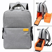 DSLR Camera Backpack with Rain Cover, Waterproof, and Shockproof