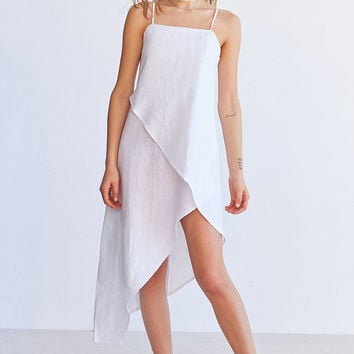 SIR The Label Rosa Midi Wrap Dress | Urban Outfitters