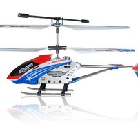 NC® BRAND - New Genuine Syma S107G Special Edition American Flag Colors Theme 3 Channels Metal Indoor Gyro RC Helicopter