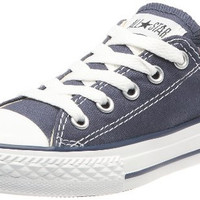 Converse Chuck Taylor All Star OX Shoe - Kids' Navy, 2.0