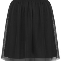 Black Tulle Mini Skirt - New In This Week  - New In