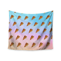 """Juan Paolo """"Lucid Pizza"""" Food Pattern Wall Tapestry"""