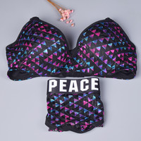 Underwear Set Love Peace in love Bra [9604967951]